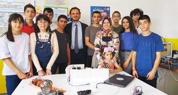 Erzurumlu gençler Zeka Gücü Sınıfı'nda Türkiye çapında projeler üretti