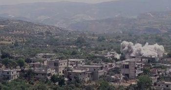 Esad rejimi İdlib'i havadan vurdu, 1 çocuk öldü
