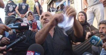 Eylem yapan ailelerden HDP'ye tepki