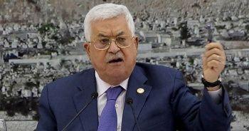 """Filistin Devlet Başkanı Abbas: """"İsrail'e teslim olmayacağız"""""""