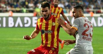 Galatasaray derbi öncesi puan kaybetti!
