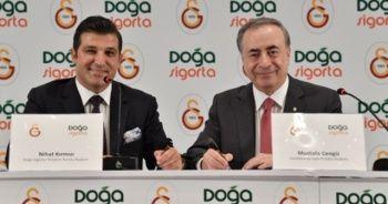 Galatasaray ile Doğa Sigorta'dan yeni sponsorluk anlaşması