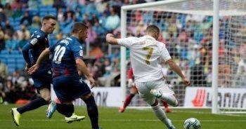 Hazard siftah yaptı, Real Madrid 3 attı