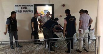 HDP binasına terör baskını