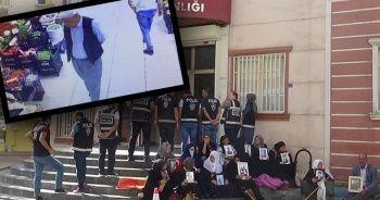 HDP önünde eylem yapan aileyi tehdit eden kişi gözaltına alındı