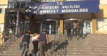 Kayseri'de 2 DEAŞ şüphelisi, adliyede