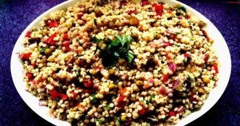 Kuskus salatası tarifi, Kuskus salatası nasıl yapılır, En kolay Kuskus salatası nasıl yapılır