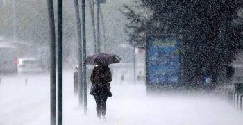 Meteoroloji'den iki il için sağanak uyarısı