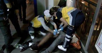 Metrobüste yer kapma kavgası kanlı bitti: 1 yaralı