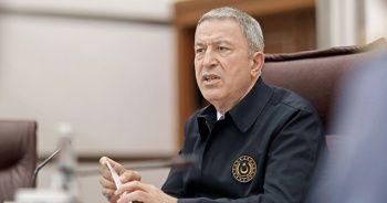 """Milli Savunma Bakanı Akar: """"Sınır boyunca üs kuruyoruz"""""""