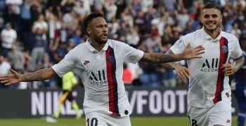 Neymar, yuhalandığı maçta PSG'yi galibiyete taşıdı