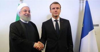 Ruhani ile Macron bölgesel gelişmeleri görüştü