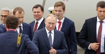 Vladimir Putin, Türkiye'ye geldi