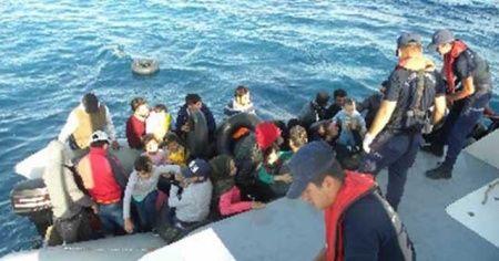 196 kaçak göçmen yakalandı