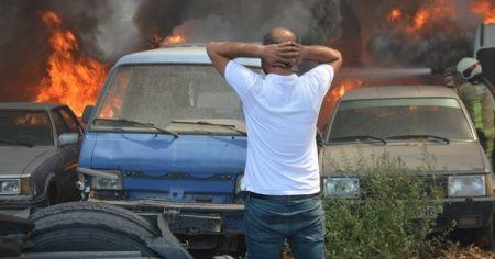 24 aracın yanmasına sebep olmuştu! Serbest kaldı