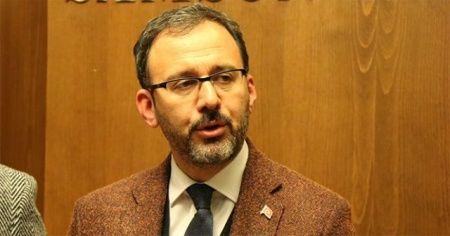 Bakan Kasapoğlu'ndan Taha Akgül'e tebrik mesajı