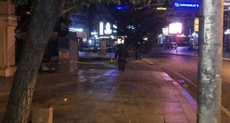 Başkent'te şüpheli çanta alarmı