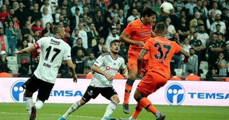 Beşiktaş Medipol Başakşehir ile 1-1 berabere kaldı