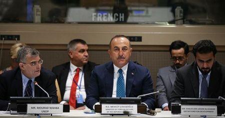Çavuşoğlu Türkiye'nin sürdürülebilir kalkınma hedeflerini anlattı