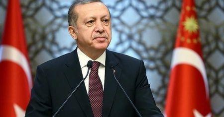 Cumhurbaşkanı Erdoğan'dan Gaziler Günü mesajı