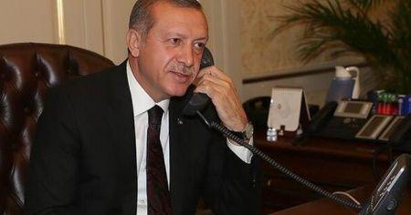 Cumhurbaşkanı Erdoğan'dan milli sporculara tebrik ve davet telefonu
