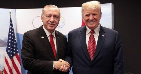 Cumhurbaşkanı Erdoğan Trump ile telefonda görüştü