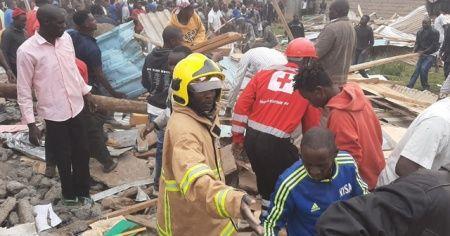 Derslik çöktü, 7 öğrenci hayatını kaybetti