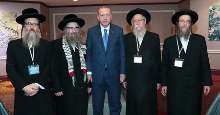 Erdoğan, Siyonizme Karşı Yahudiler Birliği heyetini kabul etti