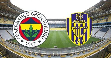 Fenerbahçe  Ankaragücü maçı canlı| Fenerbahçe Ankaragücü maçı izle | Fenerbahçe Ankaragücü maçı canlı linkleri