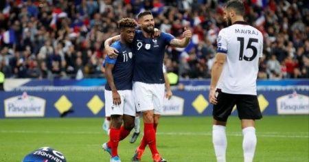 Fransa - Andorra maçı saat kaçta, hangi kanaldan canlı yayınlanacak? Fransa Andorra maçı şifresiz canlı veren yabancı kanallar var mı?