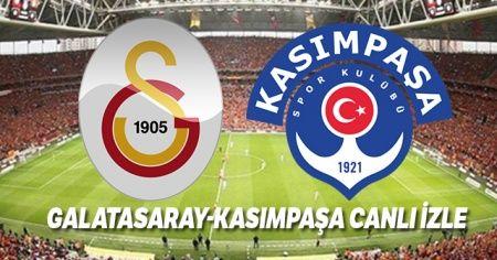 Galatasaray Kasımpaşa maçını canlı izle! GS Kasımpaşa maçı şifresiz veren yabancı kanallar var mı? GS Kasımpaşa Beinsports hd1 Digiturk 4K canlı izle