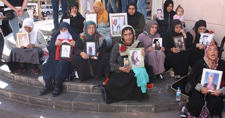 HDP önündeki eylem 21'inci gününde