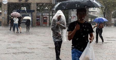Meteoroloji'den bu bölgelere sağanak yağış uyarısı