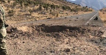 PKK'nın döşediği EYP infilak etti