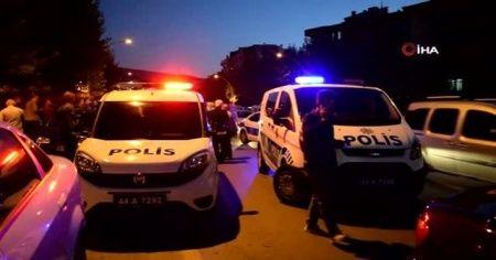 Polisi alarma geçiren düğün konvoyu