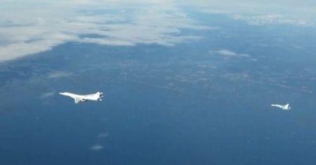 Rus uçaklarını F-16'lar 7 saat boyunca takip etti