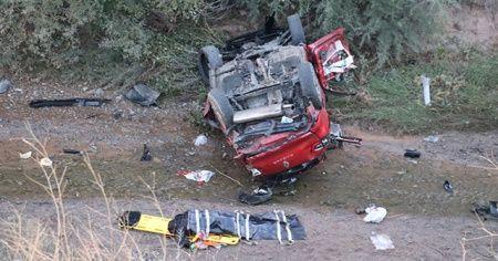 Sivas'taki kazada 2 kişi öldü, 6 kişi yaralandı