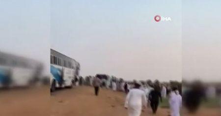 Sudan'da otobüs kazası