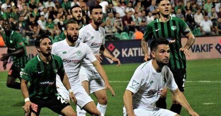 Süper Lig: Yukatel Denizlispor: 0 - Konyaspor: 1 (Maç Sonucu)