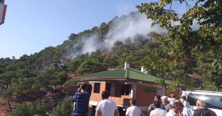 Tokat'ta, orman yangını büyümeden söndürüldü