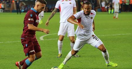 Trabzonspor ile Gençlerbirliği  berabere kaldı