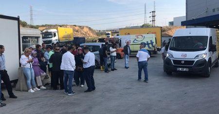 Tuzla'da Anadolu Yakası posta dağıtım merkezinde şüpheli toz paniği