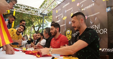 BtcTurk Yeni Malatyasporlu futbolculara büyük ilgi