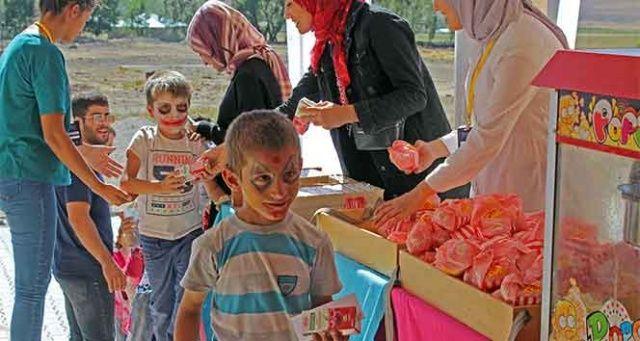 7'nci Sinemasal Film Festivali, Doğu Anadolu etabında 30 bin çocuğa ulaştı