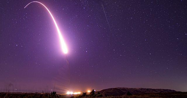 ABD'den kıtalar arası balistik füze testi