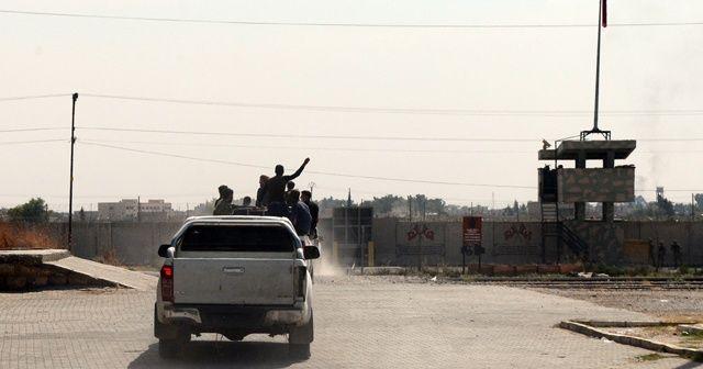 Ağır silahlarla takviye için Tel Abyad'a geçtiler