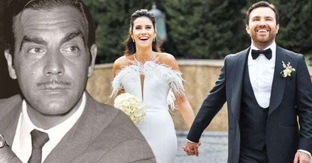 Ayhan Işık'ın torunu evlendi