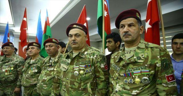Azerbaycanlı gazilerden Barış Pınarı Harekatı'na destek