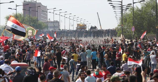 Bağdat'taki gösterilerde ölü sayısı 2'ye yükseldi