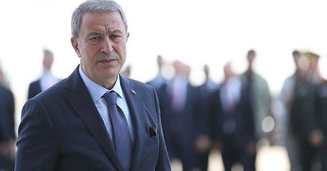 Milli Savunma Bakanı Akar: Harekat ile ilgili çalışmalarımız devam ediyor